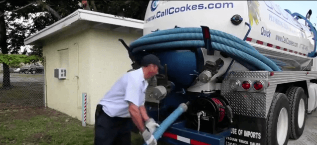 Stuart Florida septic pump out