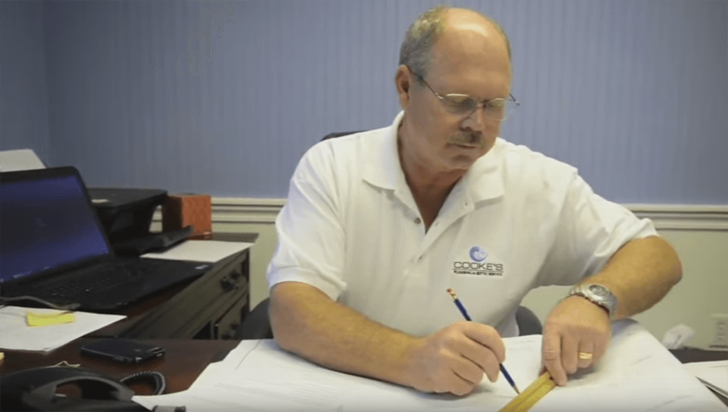 Cookes CEO estimating plumber costs