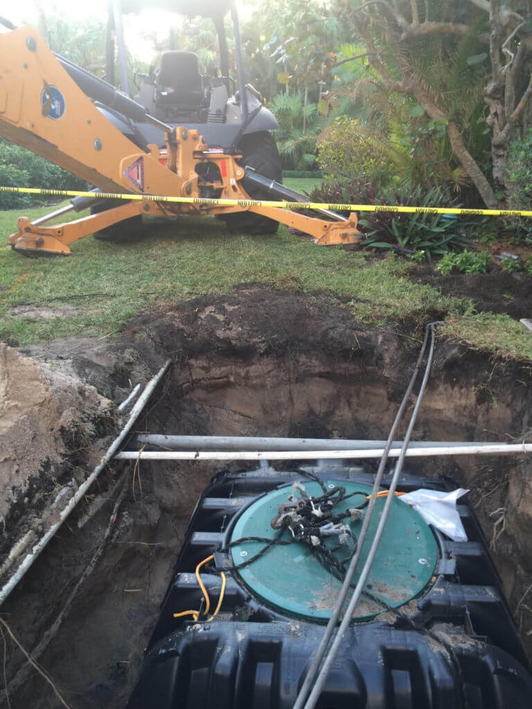 septic tank installation in Stuart or Port St. Lucie FL