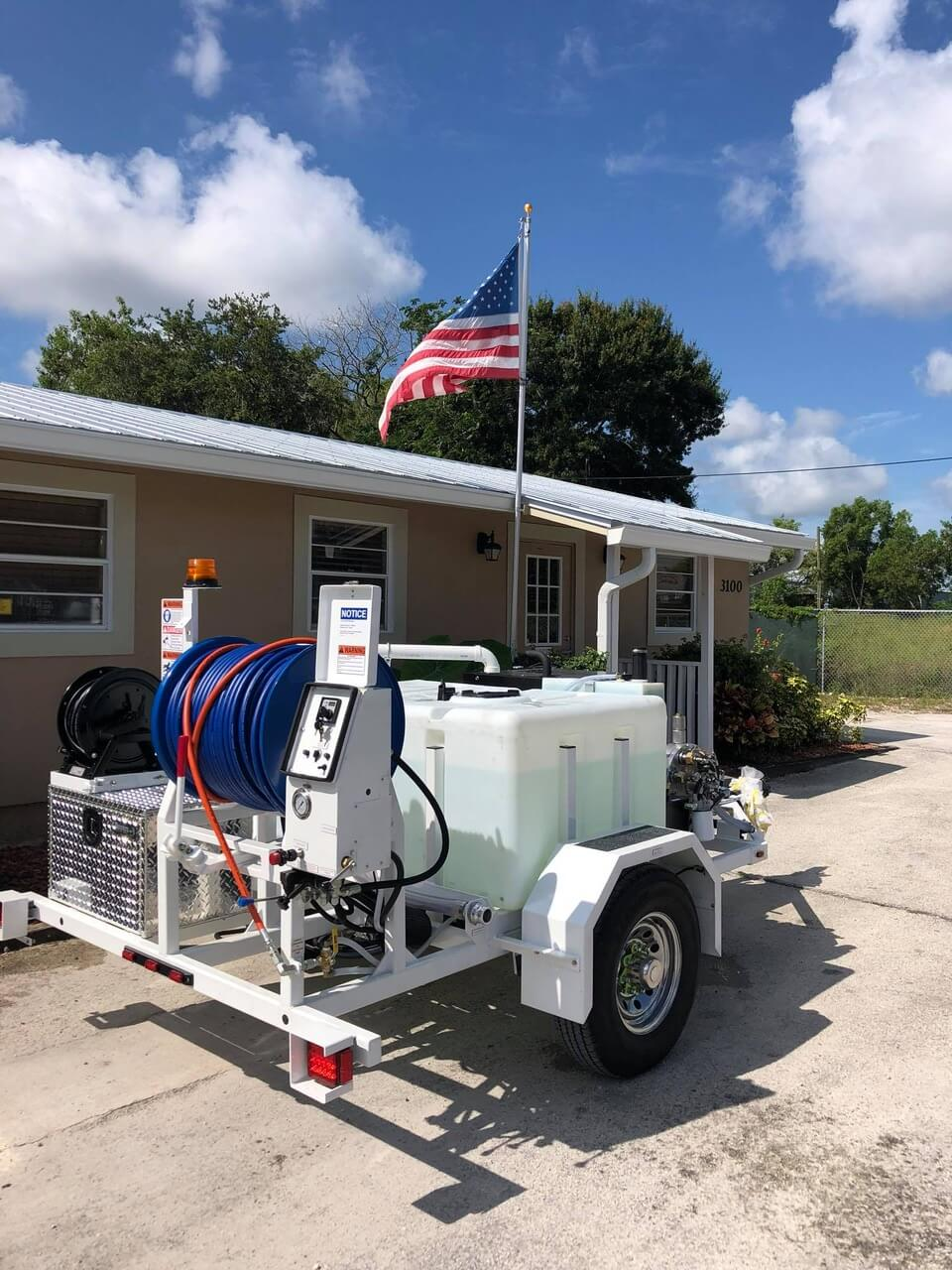Harben Sewer Line Jetter for clogs