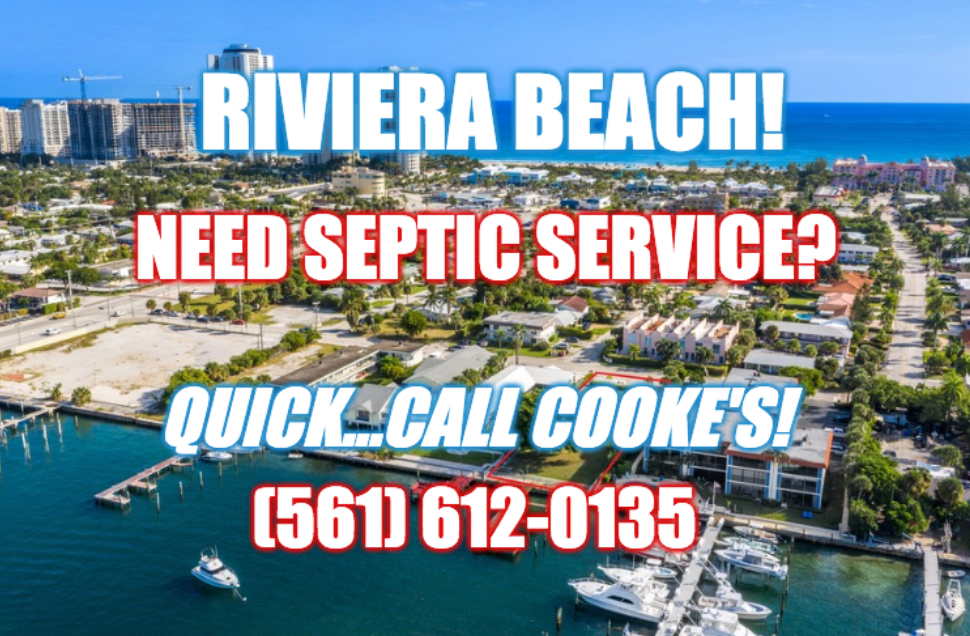 Septic services in Riviera Beach